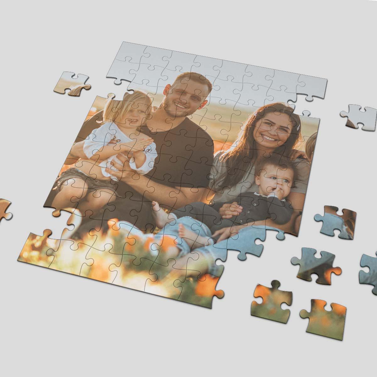 Puzzle A4 192 tasselli personalizzati