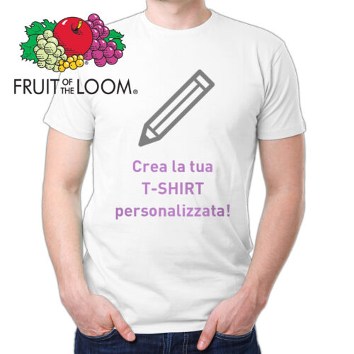 T-Shirt personalizzata FRUIT OF THE LOOM